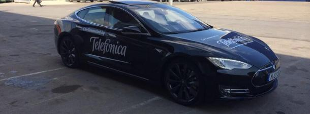 MWC14, Day One: The Tesla revs up and the Blackphone beckons!