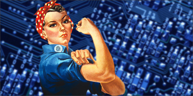 Talking about a revolution – calling all females to the digital uprising