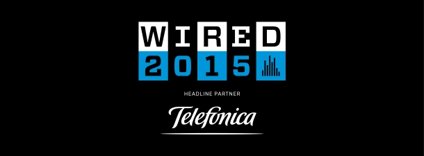 Telefónica to live-stream the Wired 2015 summit on 15-16 Oct!