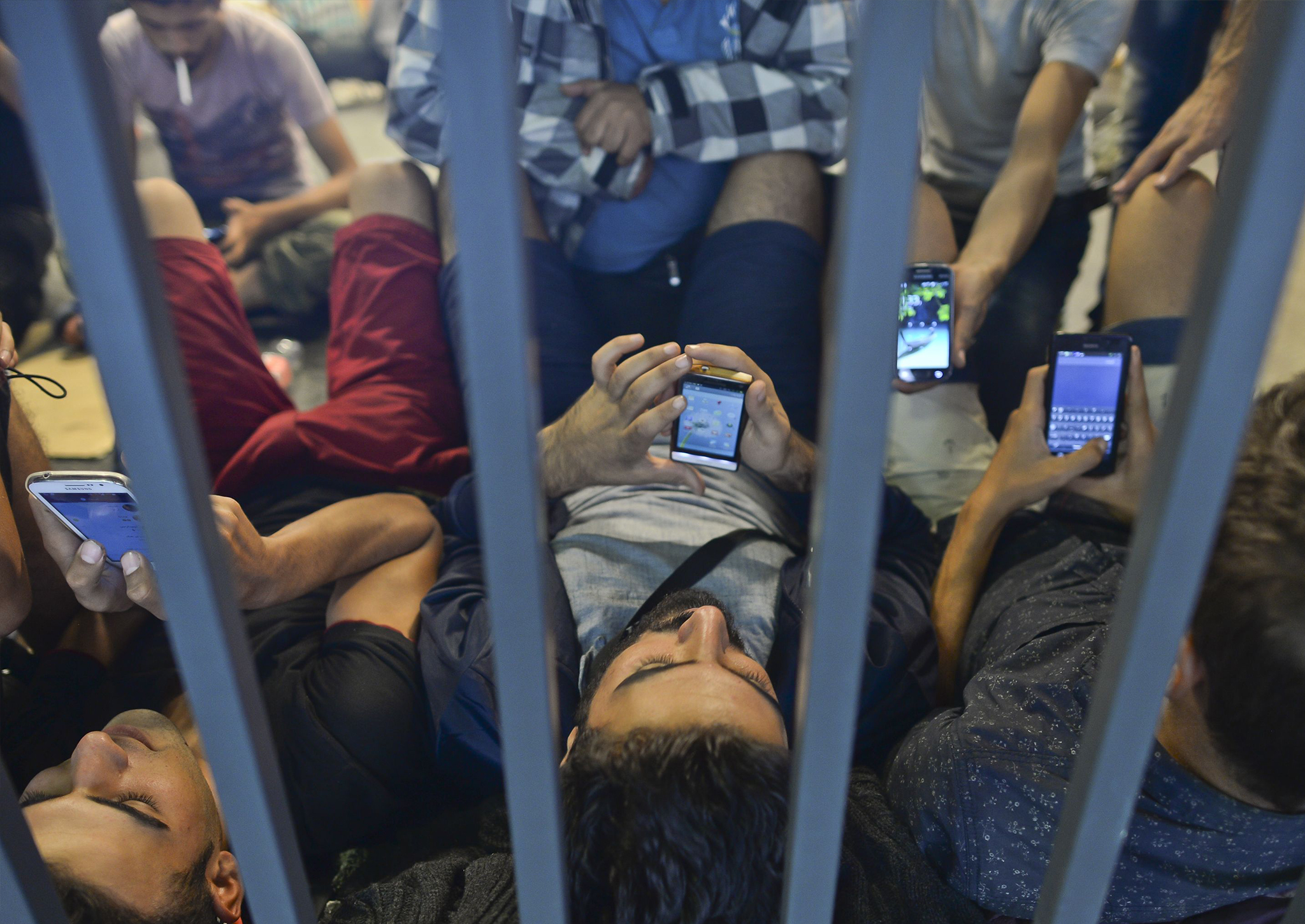 Why mobile phones are as important as food and shelter to the refugee crisis