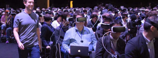 Zuckerberg's challenge for virtual reality: a less isolated, more social one