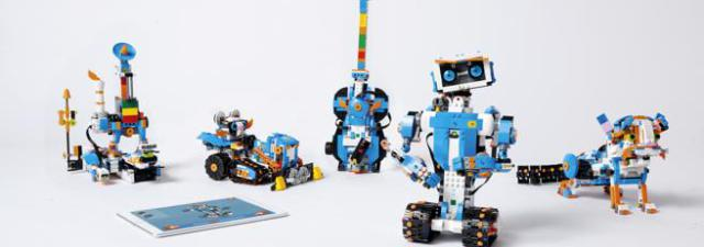 Boost is Lego's new basic robotics and programming kit