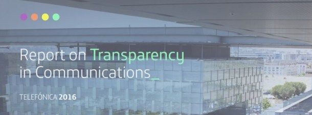 Transparency in communications is a must for Telefónica: discover our report